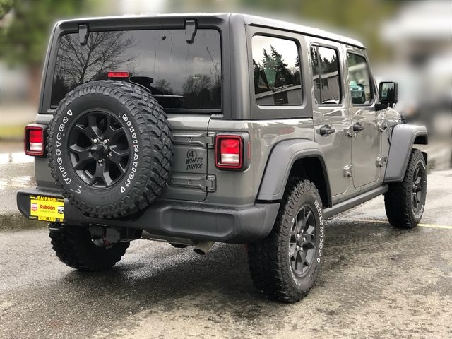 New 2020 JEEP Wrangler Unlimited Willys